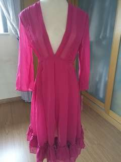 Fushia pink dress new witg tag