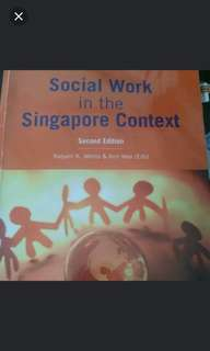 Social Work in Singapore Context