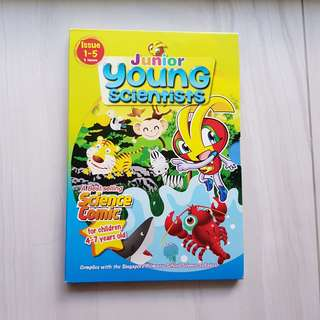Junior Young Scientists Box Set (Issue 1 - 5)