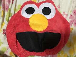 Elmo焗油頭套