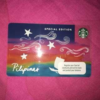 Limited Edition Strabucks Card