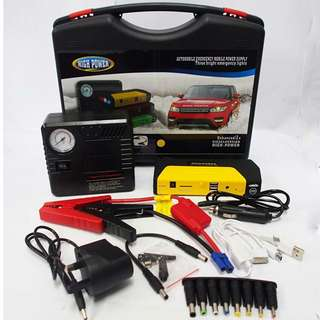 HIGH POWER Jump Start Car 50800mAh Power Bank & Tire Inflate device
