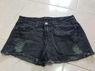 Celana pendek jeans /hot pants
