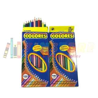 Big Colored Pencils