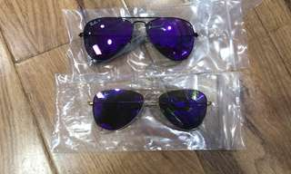 ray ban aviator flash lenses rb3025 167 58mm 62mm size polarized lenses $900 rayban brand new full packages original made in Italy