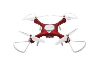 SYMA X25W Drone - 720p HD Camera, 6-Axis Gyro, Indoor and Outdoor Flying, App Support, FPV, Wireless Remote, Return Home (CVAIA-G910)