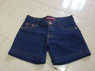 Celana pendek blue jeans /hotpants