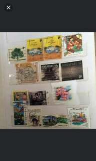 15 old singapore stamp