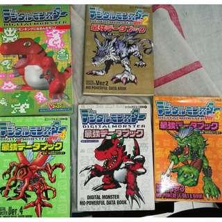 Digimon artbook/guidebook set
