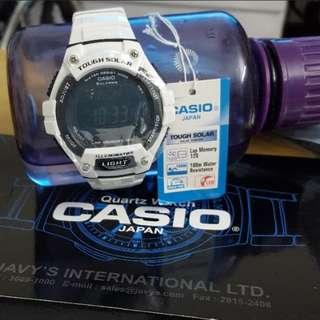 Casio Touch Solar 太陽能手錶 有夜光功能