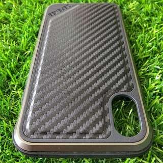 軍用級保護 X-Doria Defense Lux iPhone X 黑色碳纖電話殼 UAG IPX iPhoneX