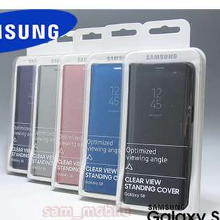 (BNIB) Samsung S8+ Plus Clear View Standing cover
