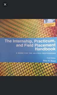 The internship, practicum & field placement handbook