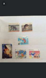 Australia old stamp