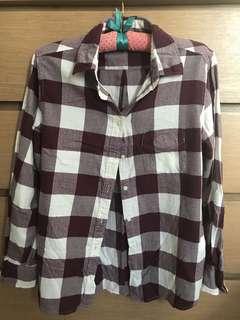 Uniqlo Striped Flannel