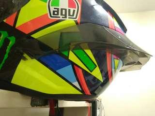 AGV Helmet GP-R spoiler