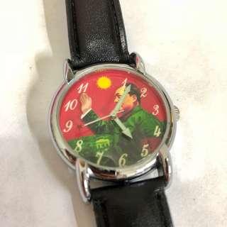 (購自北京🇨🇳) 100%全新 毛主席文青手錶