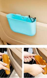 Car Accessories Mini Dustbin Multi-purpose Holder Storage