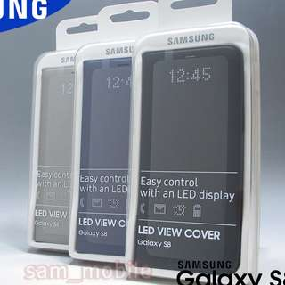(BNIB) Samung S8+ Plus LED View Cover