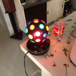 Disco lamp. Retro