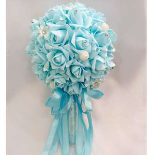 Foam flower hand bouquet