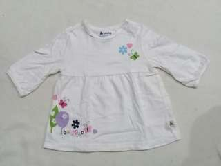 Baby Gap 3/4 shirt for 12-18m
