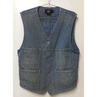 double rl stripe vest