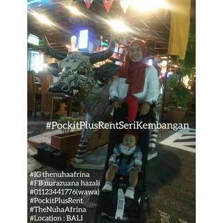 SALE RAMADHAN Rent stroller GB pockit plus