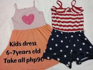 Kids dress & romper