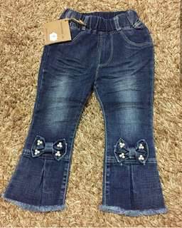 Jeans anak import 1-5y