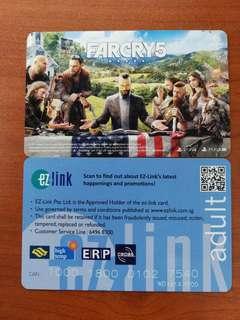 (Brand New) Far Cry 5 Limited Edition Ezlink Card