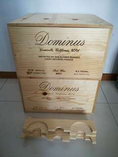 Wooden Wine Crates or boxes 2 for $30