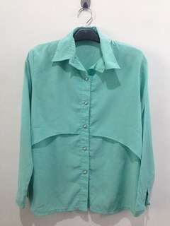 Code: #AFB8 Blouse tosca