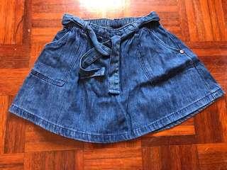 Next Uk 1.5-2y denim skirt