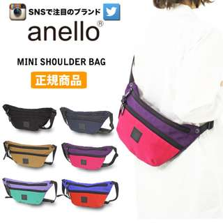 [Re-Stock] Japan Anello Mini Shoulder Messenger Bag~ Original 100% Authentic ☆New Release ☆AH-B1902