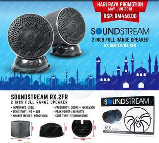 "Soundstream 2"" fullrange"