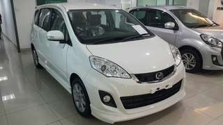 Perodua Alza 1.5 S, messages for more info