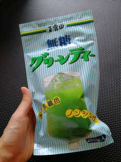 玉露園無糖綠茶粉200g Japan green tea powder