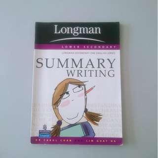 English summary writing book