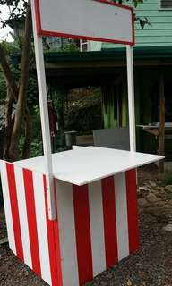 Carnival themed food booth
