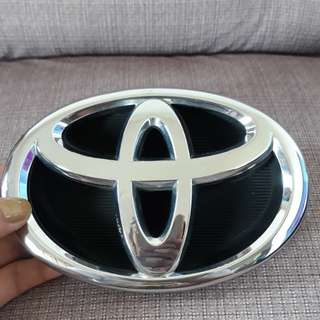 Emblem for toyota vios
