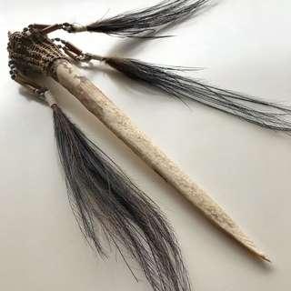 Cassowary bone dagger (Huge)