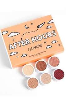 Colourpop After Hours SSS Set