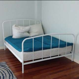 QUEEN BED FRAME (Without Mattress)