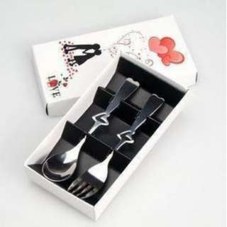Spoon and Fork White Box souvenir