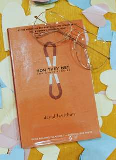 How They Met and Other Stories by David Levithan (With Plastic Cover)