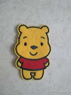 Iron on patch - Pooh Bear