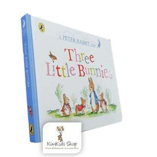 Peter Rabbit Tales - Three Little Bunnies (Board book)