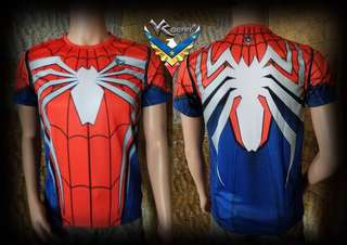 Spiderman full sublimation print