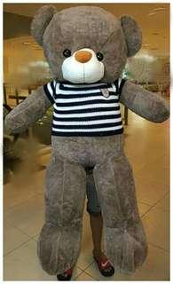 HuggyBear HypoAllergenic with striped shirt